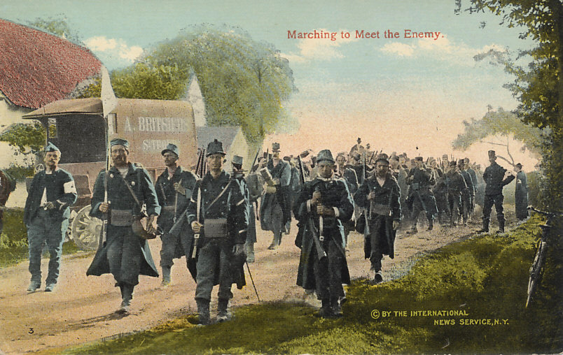 the details of the 1914 great britain invasion of belgium A key stage 3 history revision resource for the first world war topics include: causes, the coming of war, the course of the war, consequences and interpretations of the causes and conduct of the.